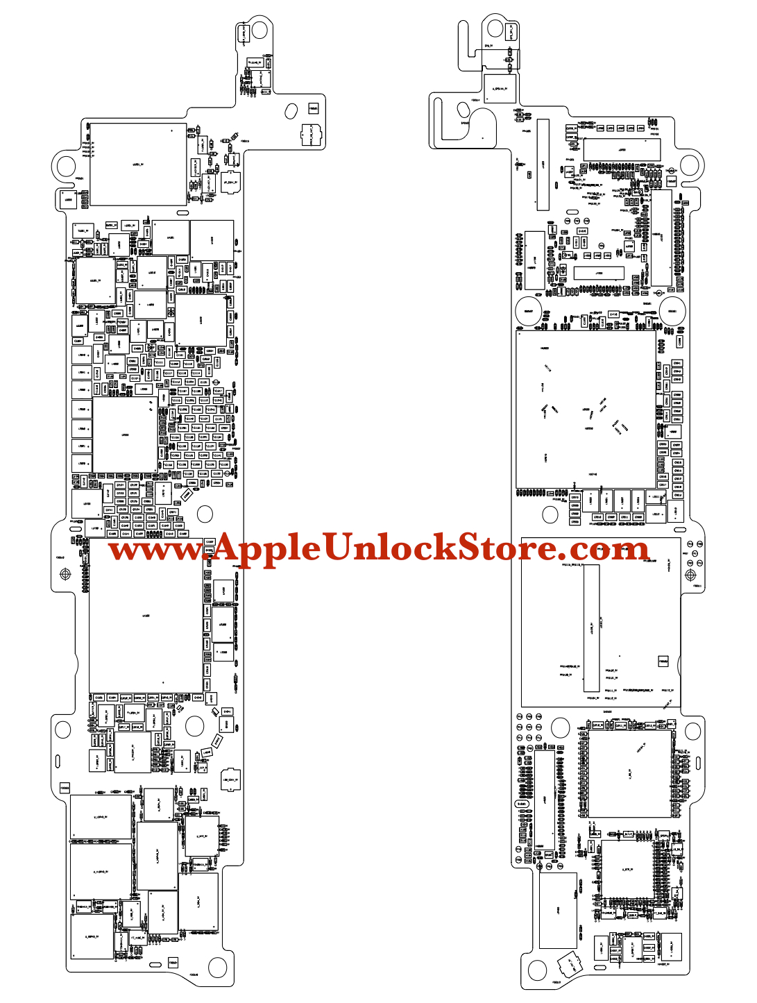 AppleUnlockStore :: Service Manuals :: iPhone SE Circuit