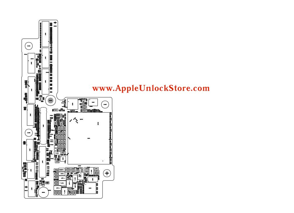 AppleUnlockStore :: Service Manuals :: iPhone X Circuit