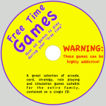 Free Times Games Disc Label
