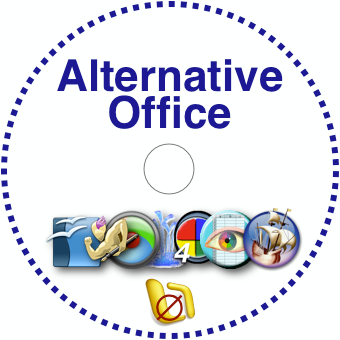 Alternative Office Disc Label