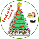 Festive Fun Volume II Disc Label
