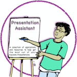 Presentation Assistant Disc Label