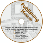 Publishing House Disc Label