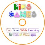 Kid's Games Disc label