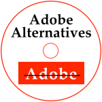 Adobe Alternatives Disc Label
