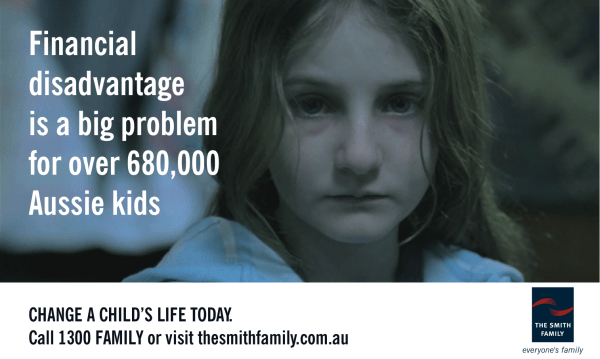 Financial disadvantage is a big problem for over 680,000 Aussie kids - The Smith Family