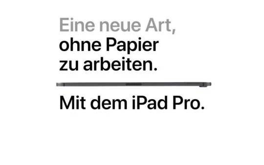 Apple Werbung über iPhone, iPad, Watch, Mac auf Deutsch