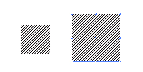 パターン 斜線