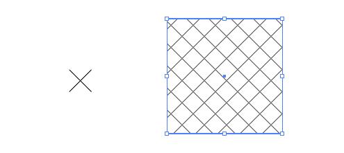 背景に最適な クロス パターン