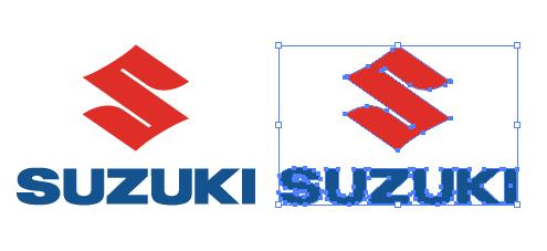 軽自動車と言ったらスズキのロゴ