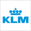 KLMオランダ航空のロゴ