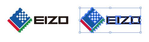 EIZO株式会社のepsロゴマーク