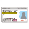 運転免許証のイラスト素材