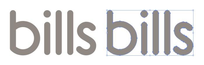 bills(ビルズ)のロゴマーク
