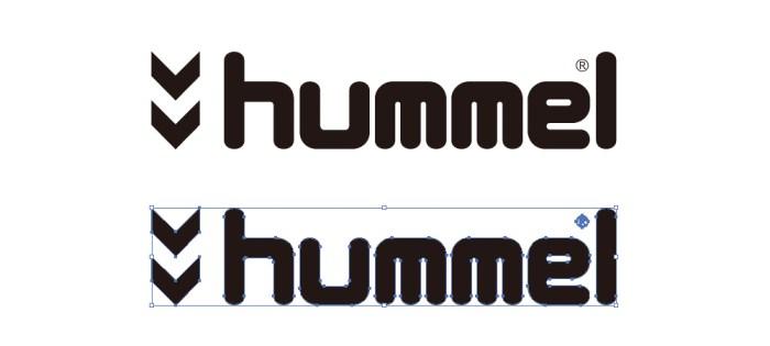 ヒュンメル(hummel)のロゴマーク