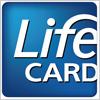 ライフカード(lifecard)のロゴマーク