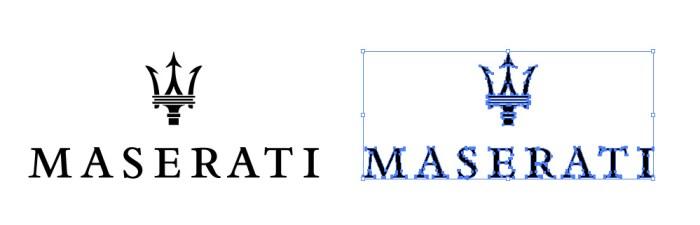 マセラッティ(Maserati)のロゴマーク