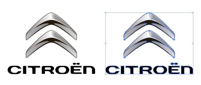 シトロエン(Citroën)のロゴマーク