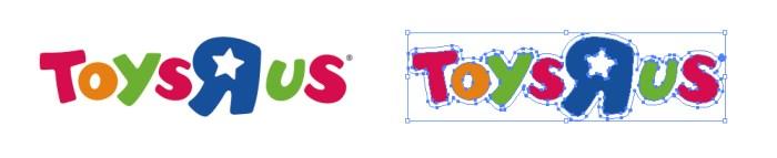 """Toys""""R""""Usのロゴマーク"""