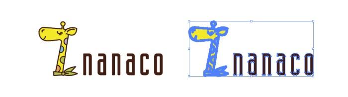 nanaco(ナナコ)のロゴマーク