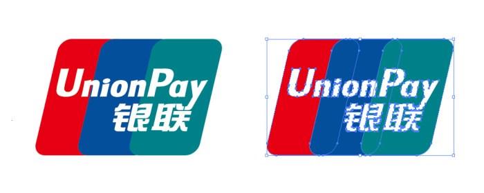 中国銀聯(ちゅうごくぎんれん・Union Pay)のロゴマーク
