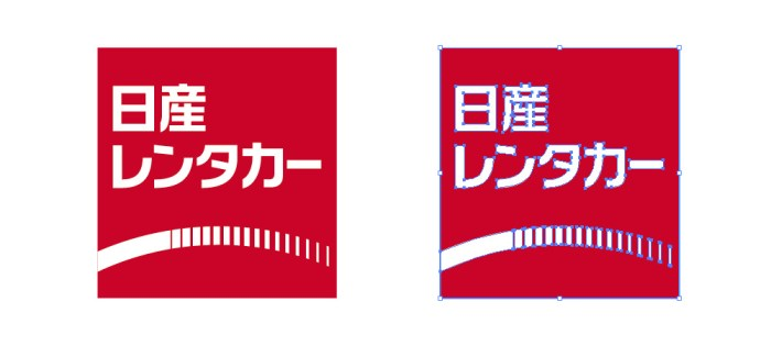 日産レンタカーのロゴマーク