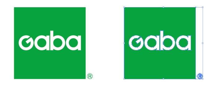 GABA(ガバ)のロゴマーク