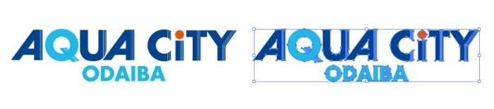 アクアシティお台場(AQUA CiTY ODAIBA)のロゴマーク
