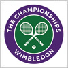 全英オープンテニス、ウィンブルドン選手権のロゴマーク