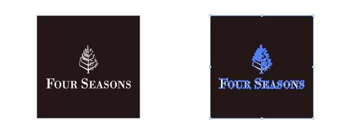 フォーシーズンズ・ホテルズ&リゾーツのロゴマーク