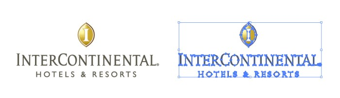 インターコンチネンタルホテルズ&リゾーツのロゴマーク