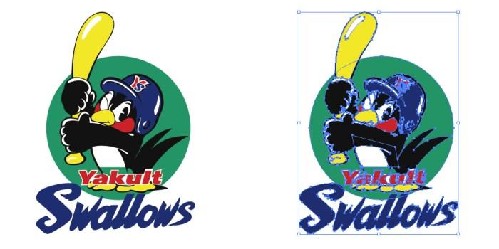東京ヤクルトスワローズ(Tokyo Yakult Swallows)のロゴマーク