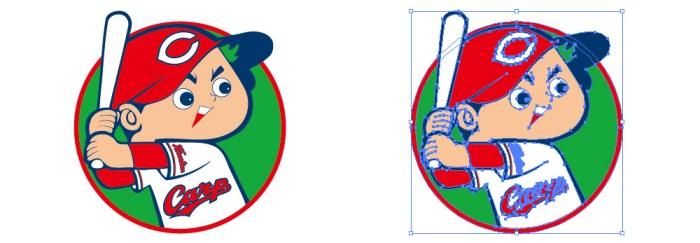 広島東洋カープ(Hiroshima Toyo Carp)のロゴマーク