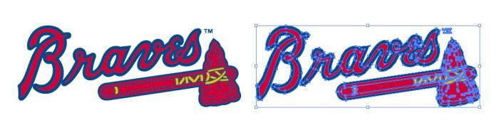 アトランタ・ブレーブス(Atlanta Braves)のロゴマーク