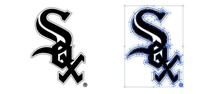 シカゴ・ホワイトソックス(Chicago White Sox)のロゴマーク