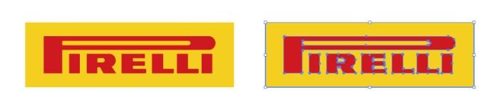 タイヤメーカー、ピレリ(PIRELLI)のロゴマーク