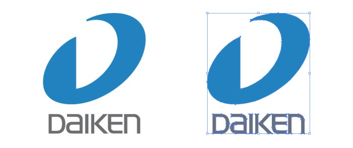 大建工業(ダイケン DAIKEN)のロゴマーク