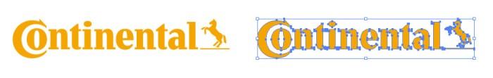 コンチネンタル(Continental)のロゴマーク