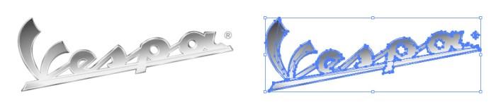 ベスパ(Vespa)のロゴマーク