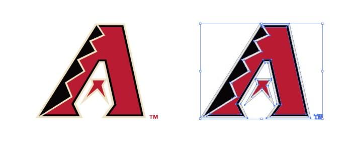 アリゾナ・ダイヤモンドバックス(Arizona Diamondbacks)のロゴマーク