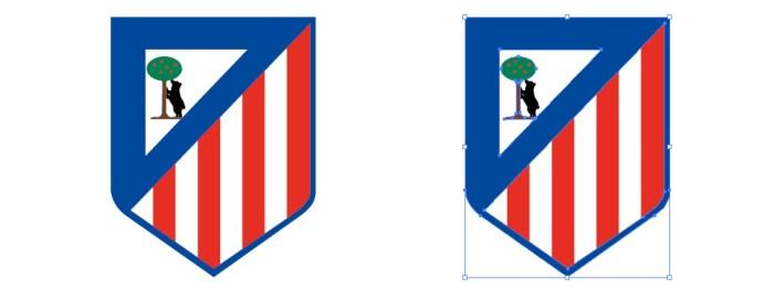 アトレティコ・マドリードのロゴマーク
