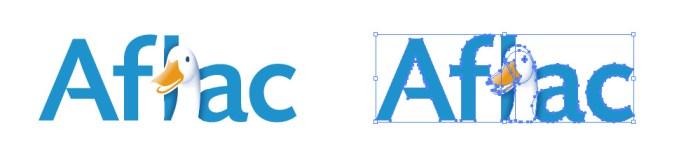 アフラック(Aflac)のロゴマーク