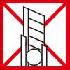カッターの使用禁止を表すロゴアイコンマーク