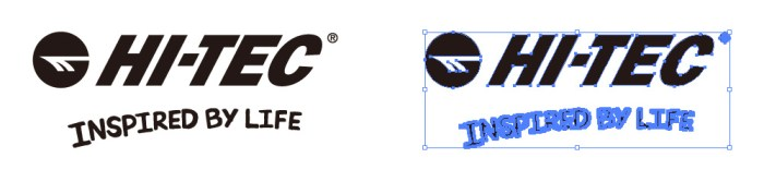 Hi-Tecのロゴマーク