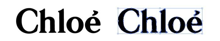 クロエ(Chloé)のロゴマーク