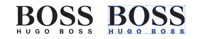 ヒューゴ・ボス(HUGO BOSS)のロゴマーク