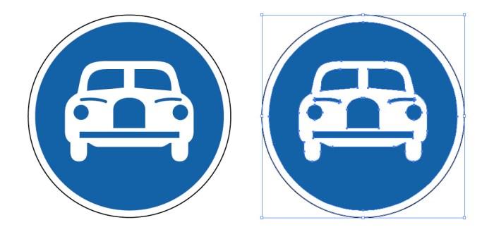 自動車専用を表す道路標識