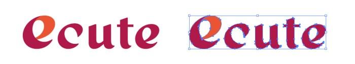 エキュート(ecute)のロゴマーク