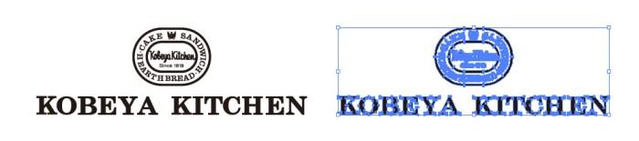 神戸屋レストラン(KOUBEYA KITCHEN)のロゴマーク