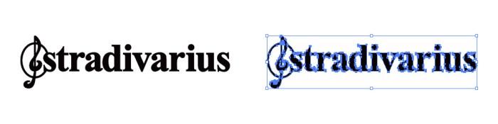 ストラディバリウス(Stradivarius)のロゴマーク